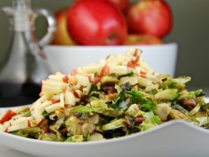 Brussel Sprouts Bacon Apple
